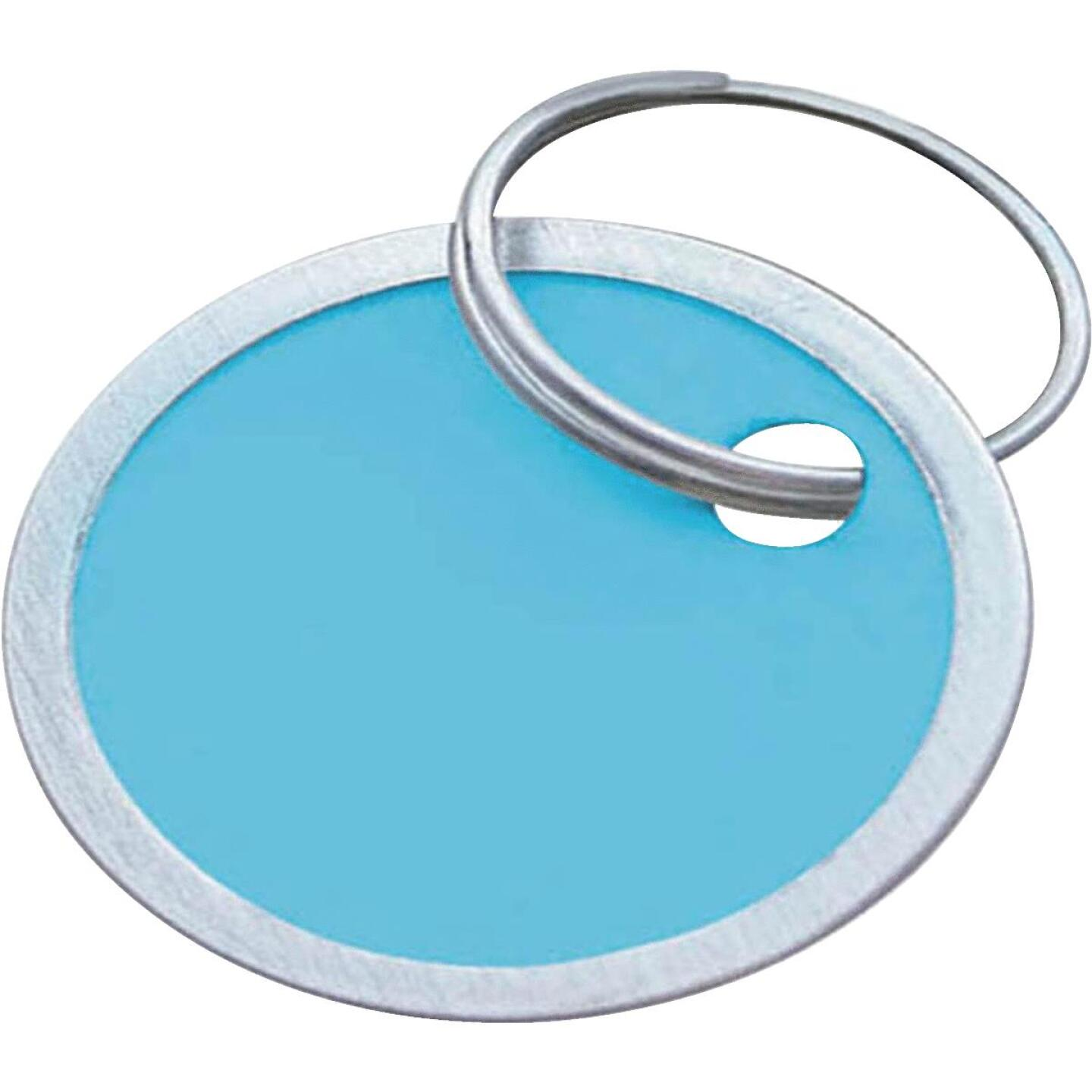 Lucky Line 1-1/4 In. Metal-Rimmed Paper Key Tag, (25-Pack) Image 1