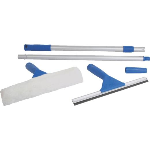 Ettore Rubber Window Cleaning Kit (5-Piece)