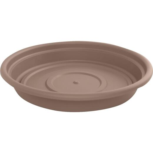 Bloem 14 In. Chocolate Poly Classic Flower Pot Saucer