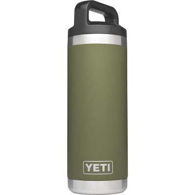 Yeti Rambler 18 Oz. Olive Green Stainless Steel Insulated Vacuum Bottle