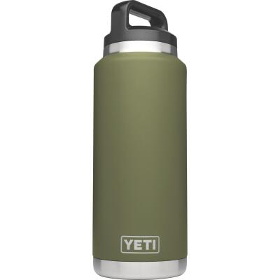 Yeti Rambler 36 Oz. Olive Green Stainless Steel Insulated Vacuum Bottle