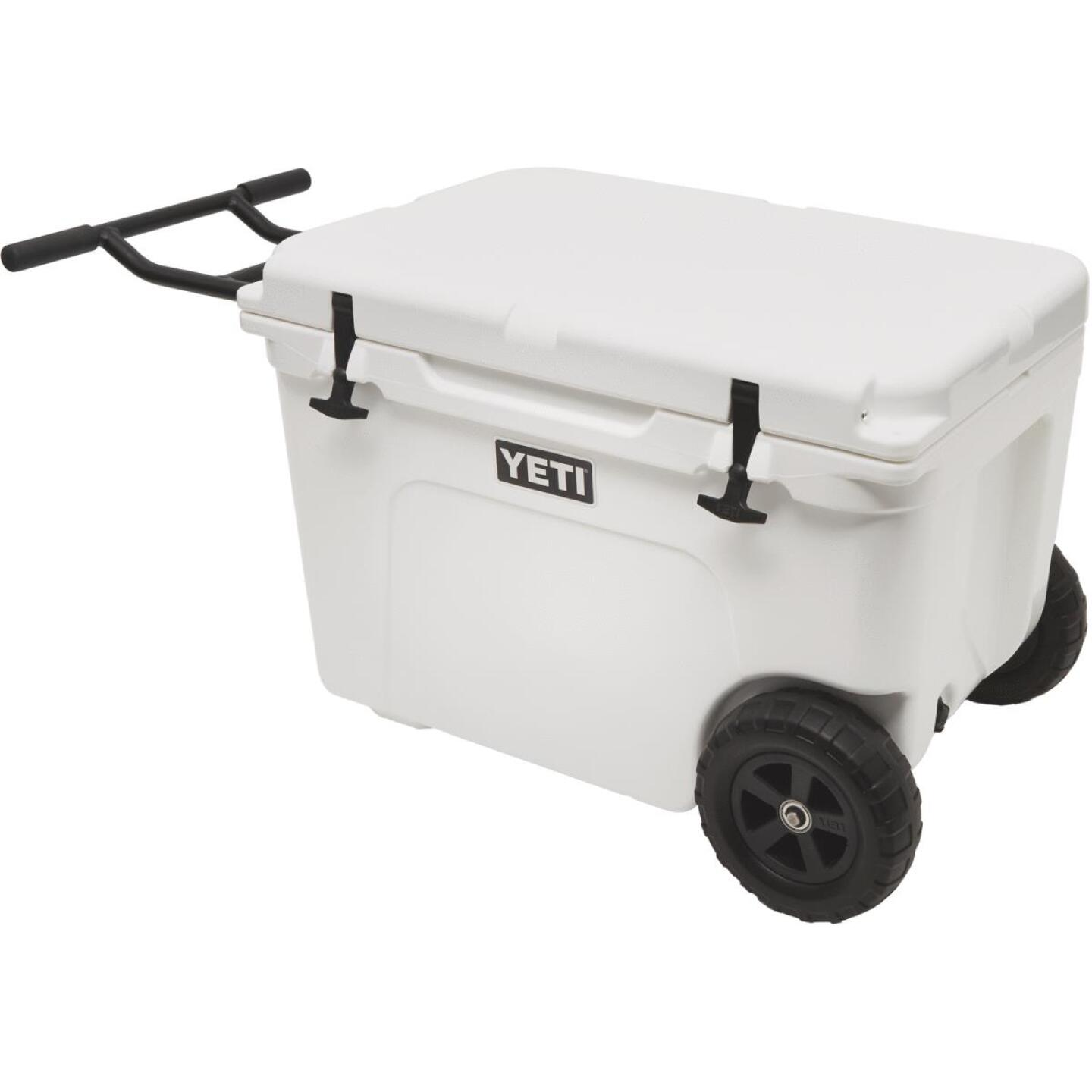 Yeti Tundra Haul 45-Can 2-Wheeled Cooler, White Image 1