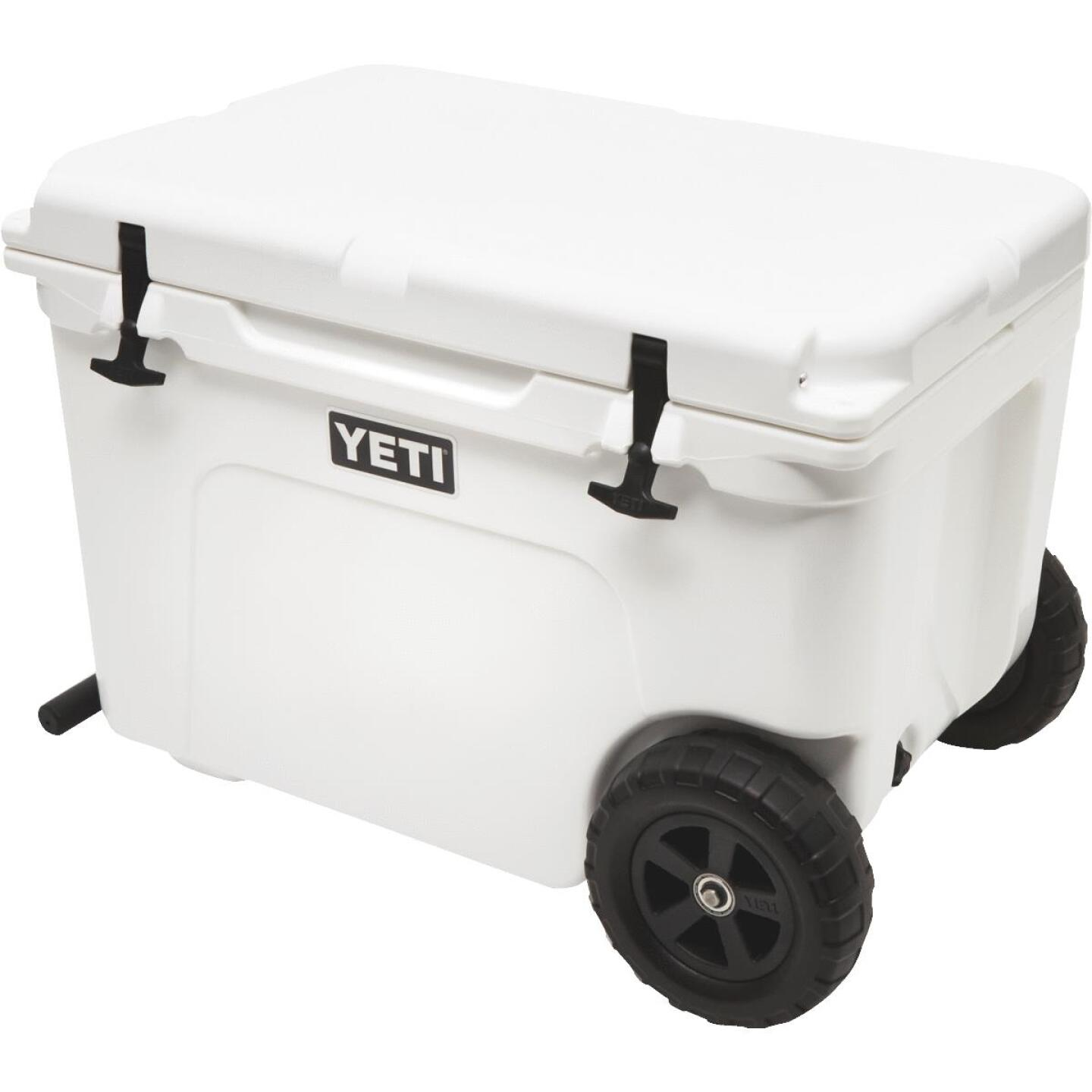 Yeti Tundra Haul 45-Can 2-Wheeled Cooler, White Image 2